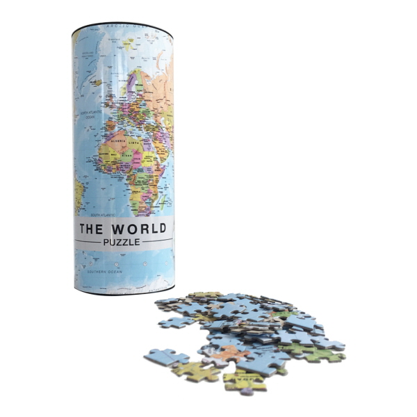 The world puzzlespil