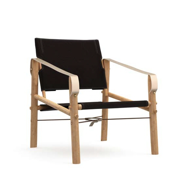 Nomad chair black front