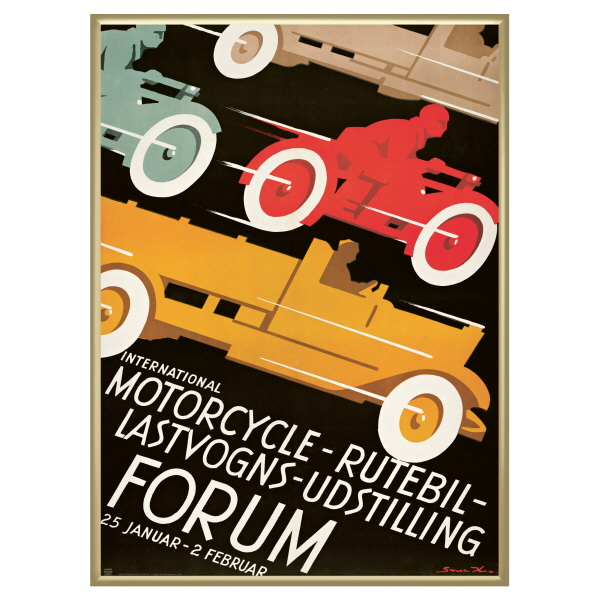 Mortorcycle Forum i guld