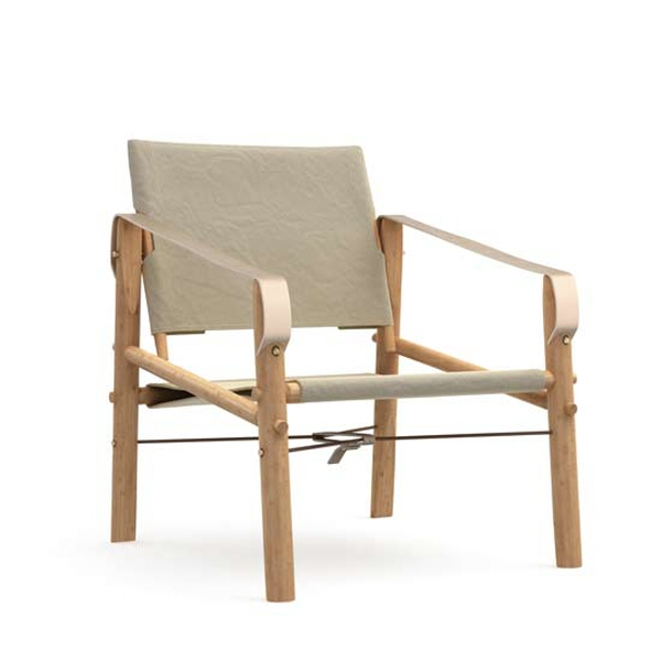 Nomad chair natur front