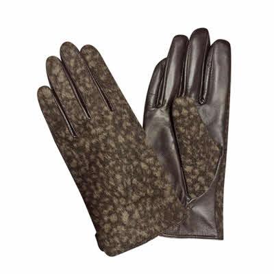 Handsker med dyreprint