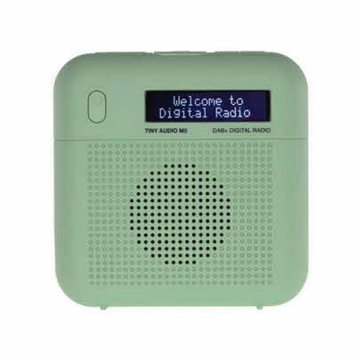 Tiny Audio M3, DAB/DAB+ og FM radio