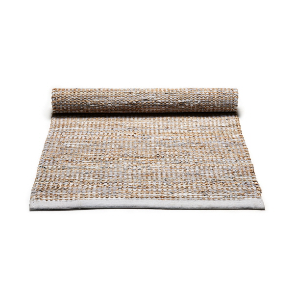 Jute - Smooth Grey - Rug Solid