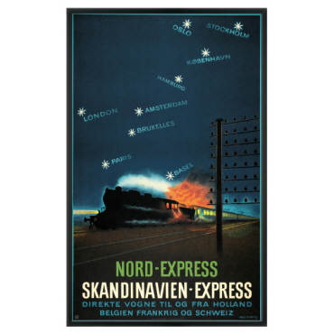 Nord-Express i sort