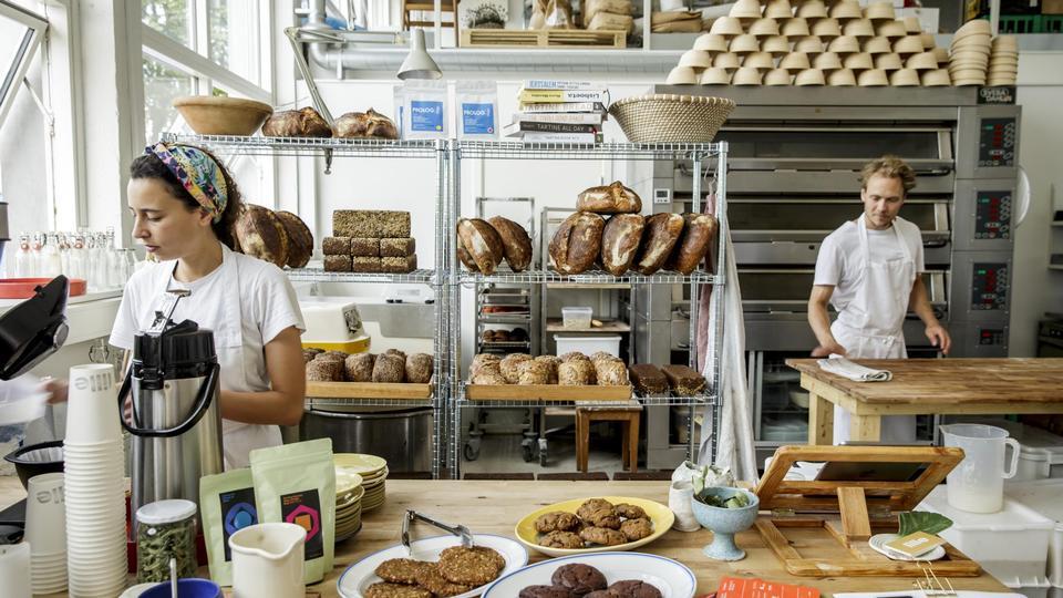 Madanmeldelse af Lille Bakery fra politiken.dk