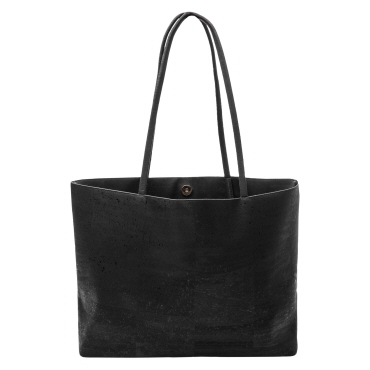 mellow fellow kork shopper klassisk taske kork bark