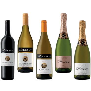 1f36d2d042e Moreson – Top bobler, hvidvin og rødvin fra Sydafrikas bedste vinmager i  2018