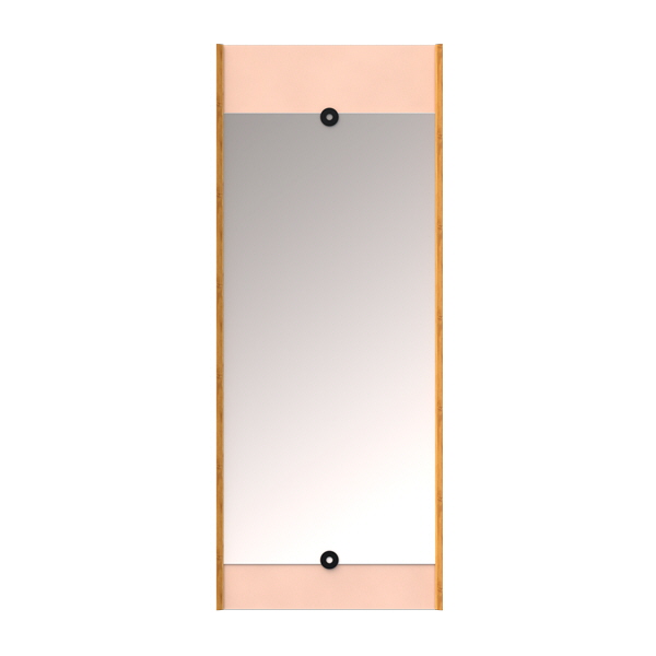 Pink layer mirror we do wood