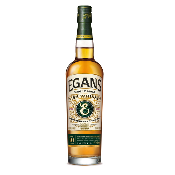 Egans single malt Whiskey 10 års