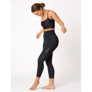 Korte tights, sort – T2 power