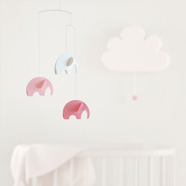 Flensted olephants pink