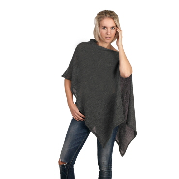 Transparent poncho stinne gorell