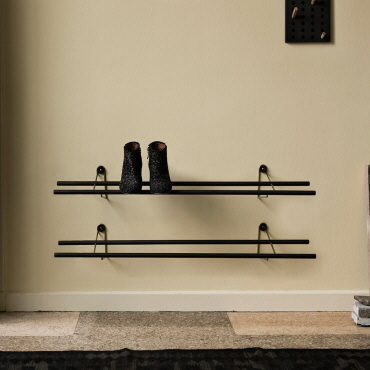 Shoe rack dark  -  We Do Wood - sort