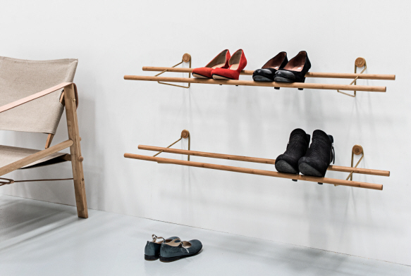 We Do Wood, Shoe Rack, Messing