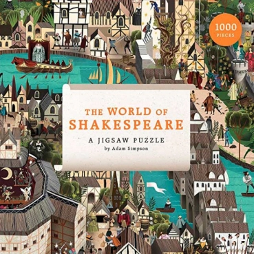 Puslespil - The World of Shakespeare