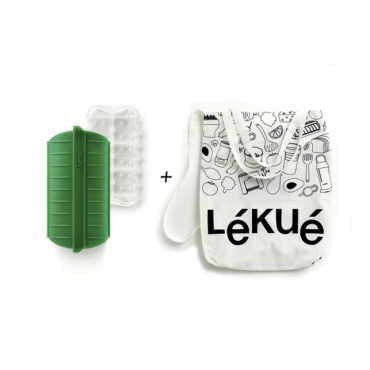 lekue green shopper kit