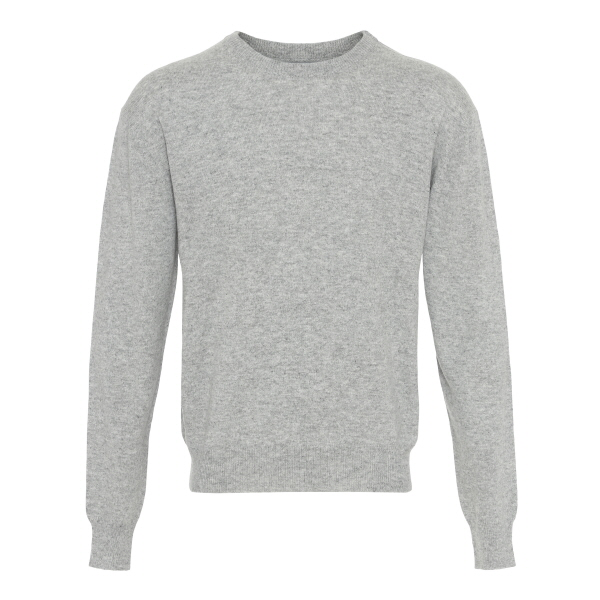 c5ae7e9158f Klassisk rundhalset sweater i 100% cashmere (light grey) - Politiken ...