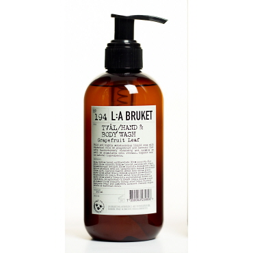 LA Bruket hand body wash 250 ml