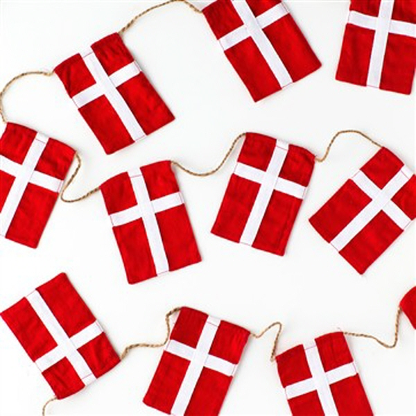 små dannebrogsflag