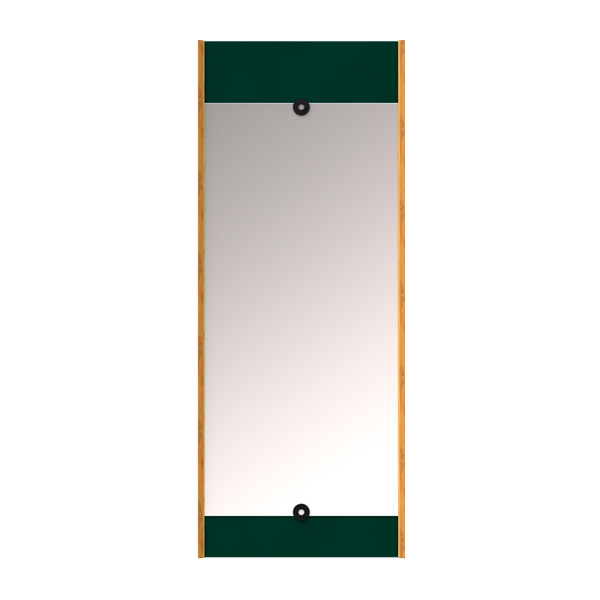 Green layer mirror we do wood