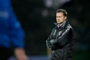 Jesper Fredberg var assistenttræner for Peter Sørensen i AGF, før han selv blev forfremmet til cheftræner.
