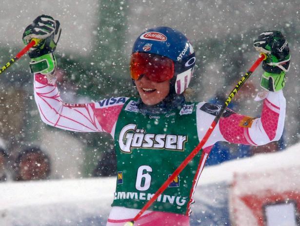 Mikaela Shiffrin viser i øjeblikket storform og er urørlig i både slalom og storslalom.