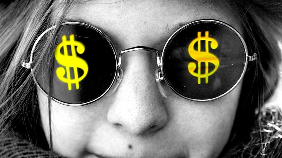 картинки с долларами в глазах любовь
