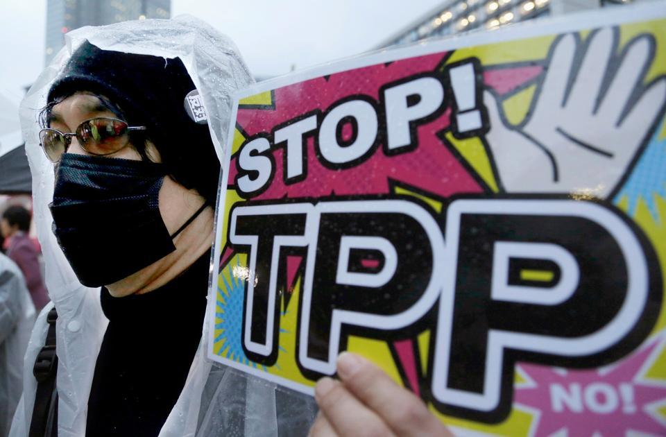 I USA har frihandel et mere blakket ry... Arkivfoto: AP