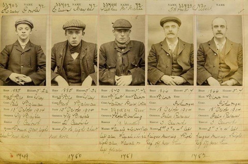 De fleste kriminelle fra Peaky Blinders-banderne døde fattige, mens ledere som Billy Kimber og Darbi Sabini gik i graven som velhavende og autoriserede bookmakere. Foto: West Midlands Police Museum
