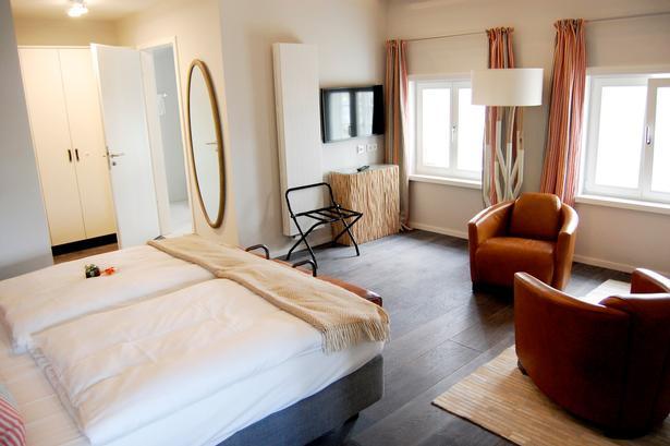 Dette er et af de største værelser på hotellet.