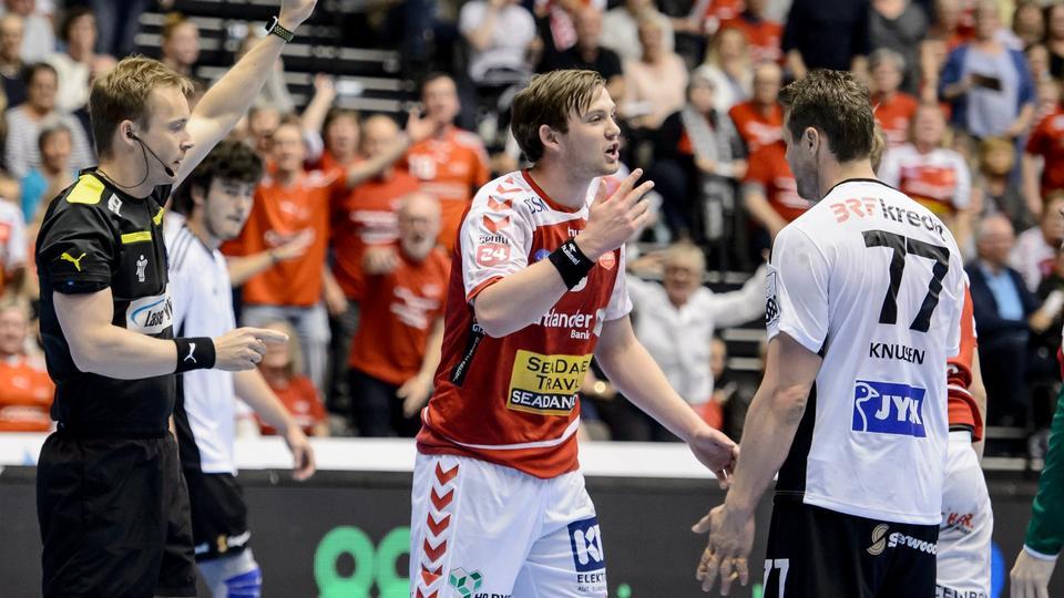 98f8e34ec6d Så er finalen på plads: Aalborg smækkede mesterholdet og er klar til  guldkamp - politiken.dk