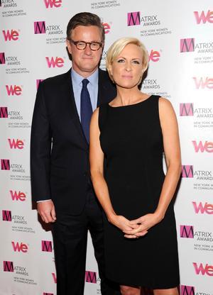 De to værter der kritiserede Trump i programmet 'Morning Joe' på MSNBC, Mika Brzezinski and Joe Scarborough.