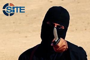 Islamister har været meget direkte i deres videoer om, hvad der bør gøres ved ikke-muslimer som her, hvor den britiske terrorist Mohammed Emwazi - bedre kendt som 'Jihad-John' - er fotograferet i forbindelse med halsoverskæringen af et vestligt gidsel i Islamisk Stat.