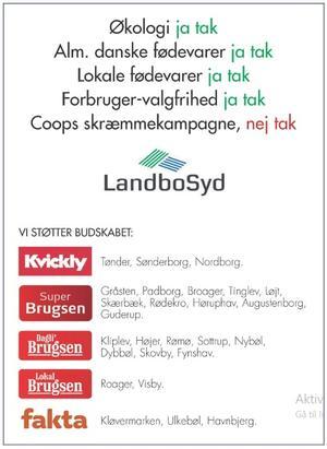 Ovenstående annonce kørte i Jyske Vestkysten.