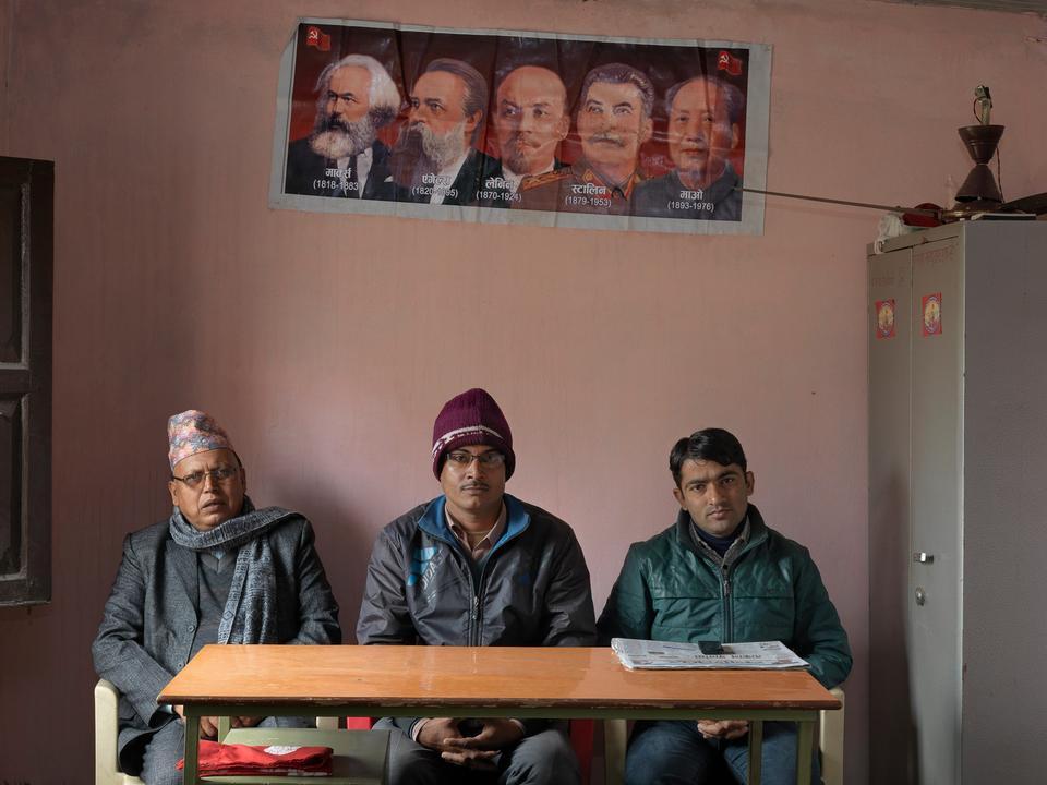 Nepal. Revolutionære maoister brød med moderpartiet i 2012 og stiftede Baidya.