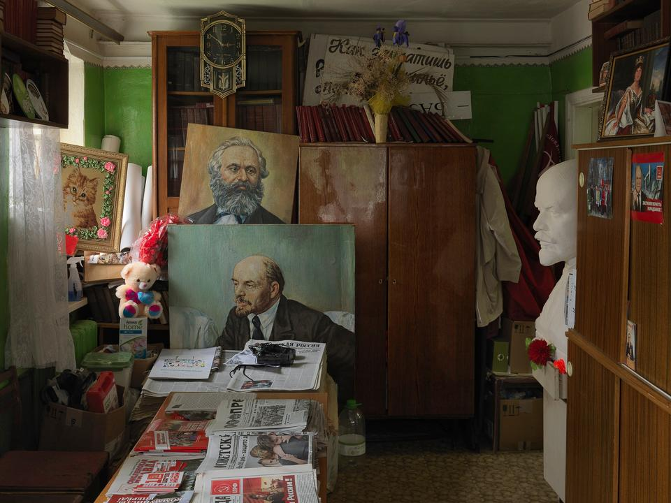 Rusland. Det russiske kommunistpartis distriktskontor i Smolensk.