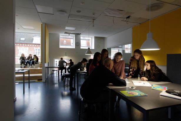 Det nye lys har især haft effekt hos de elever, som har haft sværest ved at koncentrere sig.