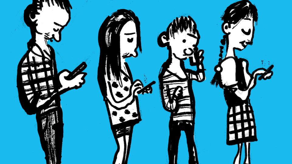 børn og mobiltelefoner