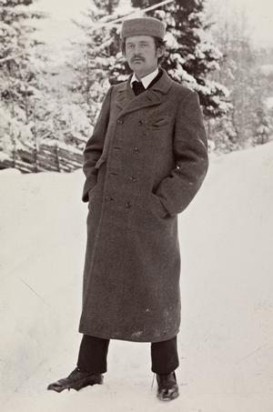 Lav opløsning. Portræt af Edvard Munch. Hentet via wikipedia.