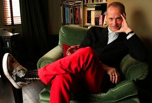 Writer and director John Waters poses for a portrait at his home in New York, Monday, April 21, 2008. (AP Photo/Kathy Willens)