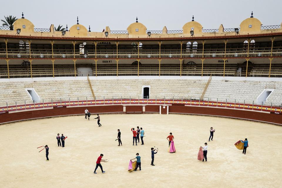 Kulturen omkring tyrefægtning er presset i disse år. Men selv om tyrefægtningens popularitet har været dalende, så modtager tyrefægterskolerne stadig nye elever. En af de byer, der oplever, at der findes en kommende generation af tyrefægtere, er byen Almería i Sydspanien, som har 10 drenge i 12-årsalderen, der bruger flere af ugens dage på træning i Almerás arena.