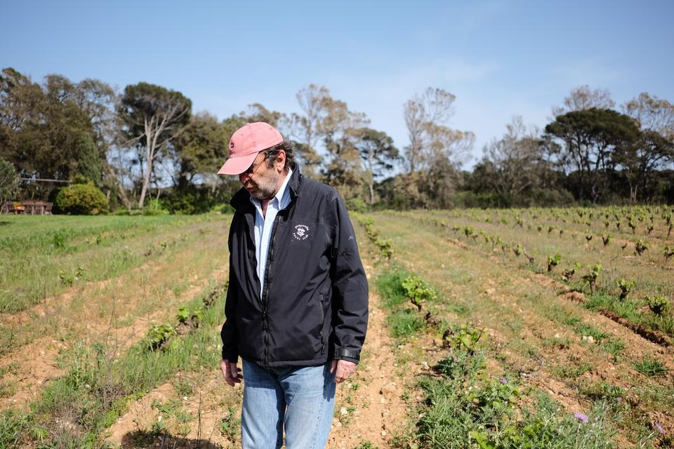 Sebastian Le Bers bedstefar ejede fra 1911 og frem til Anden Verdenskrig hele Porquerolles-øen. I dag driver Le Ber øens største vingård.