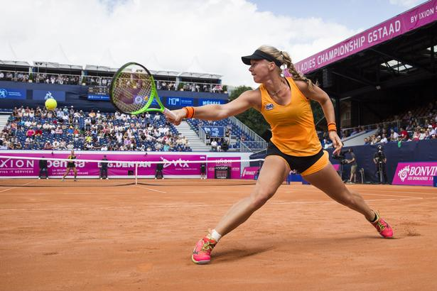 Kiki Bertens har blandt andet vundet turneringen i Gstaad i Schweiz.
