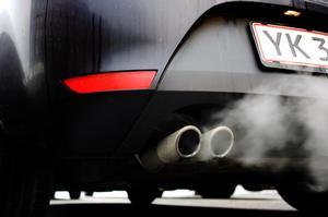 Bilos, CO2, smog, os, udstødning, udstødningsrør, trafik.