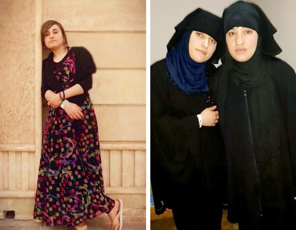 Hjemme i landsbyen og fanget hos IS med Katrin