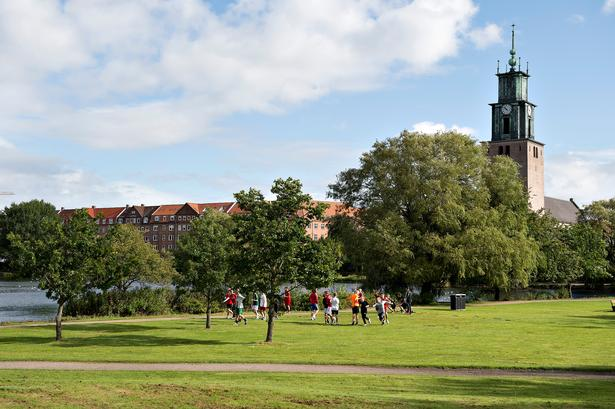 Østre Anlæg i Aalborg.