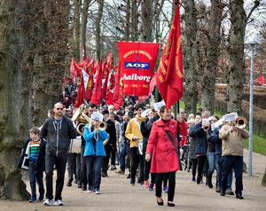 Kildeparken i Aalborg bliver anvendt til blandt andet 1. maj og karneval.