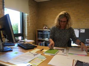 Tina Duermin Johansen, leder af Søndermarksskolen, er ked af de dårlige tilbagemeldinger, som mange forældre til skolens elever er kommet med.