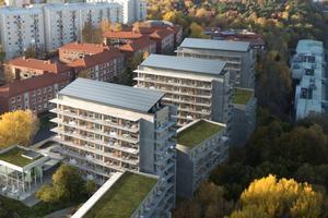Viva i Göteborg, hvor man valgte bæredygtig beton frem for træ.