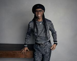 "Nile Rodgers poses for a portrait to promote the film ""Studio 54"" at the Music Lodge during the Sundance Film Festival on Saturday, Jan. 20, 2018, in Park City, Utah. (Photo by Taylor Jewell/Invision/AP)"